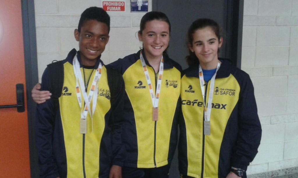 Josuer, Claudia, Andrea