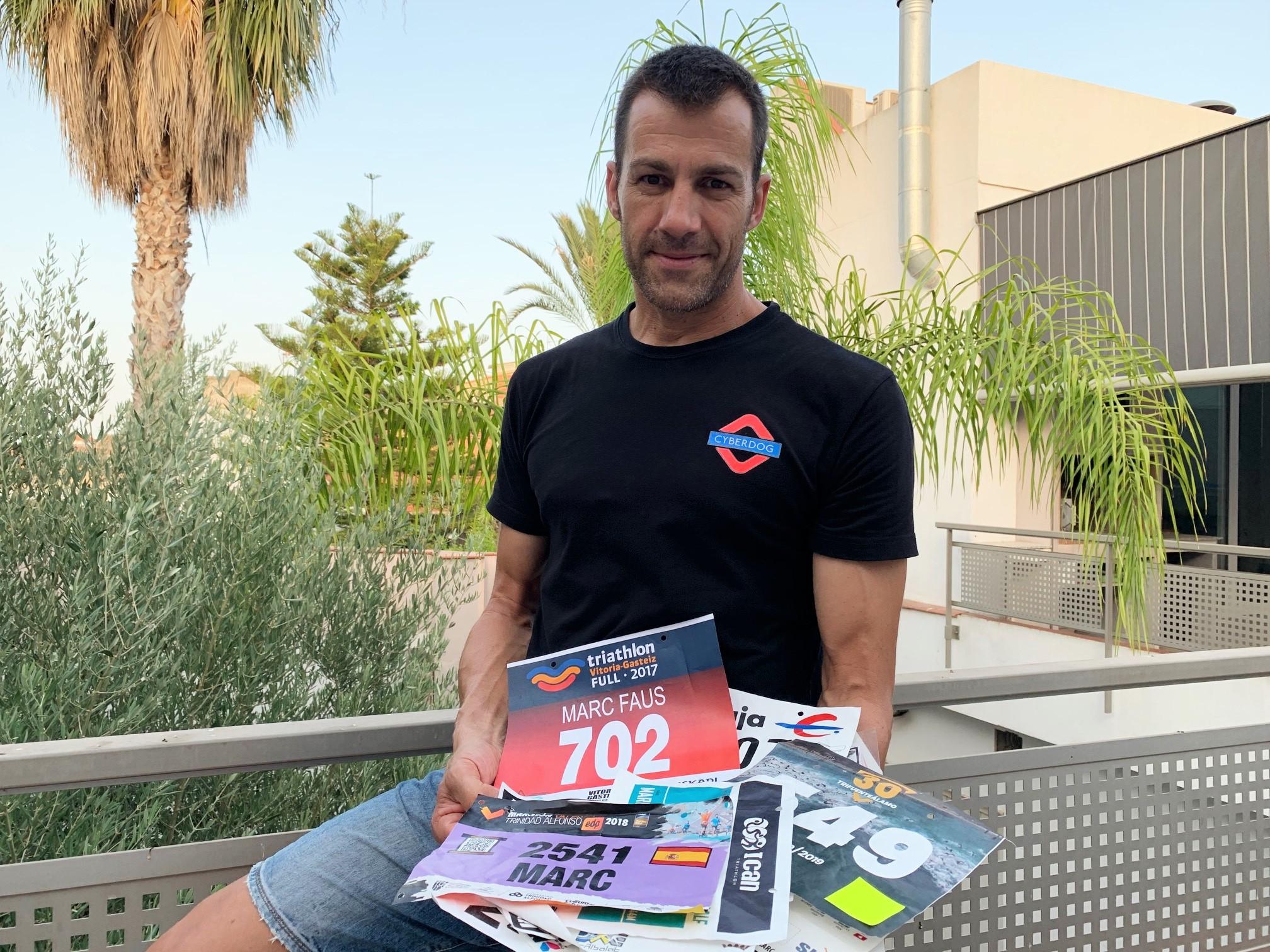 Marc Faus: 'El triatló és una prova de resistència però no serveix ser el més fort, si et falla el cap, caus'