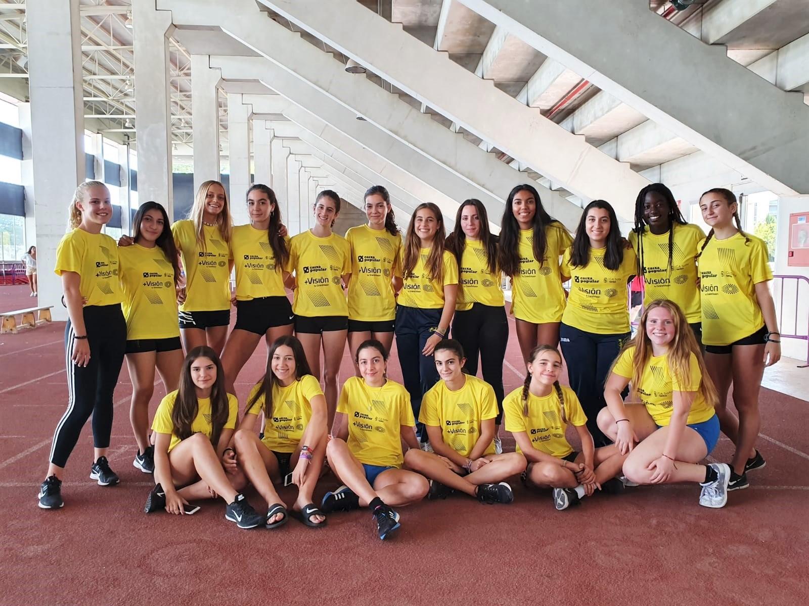 Setena plaça per a les xiques en el Campionat d'Espanya per Clubs Cadet