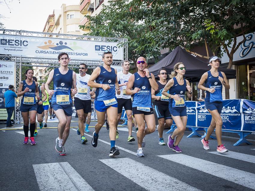 Deporte y compañerismo en la primera edición de la Cursa de les Empreses de la Safor- ESIC