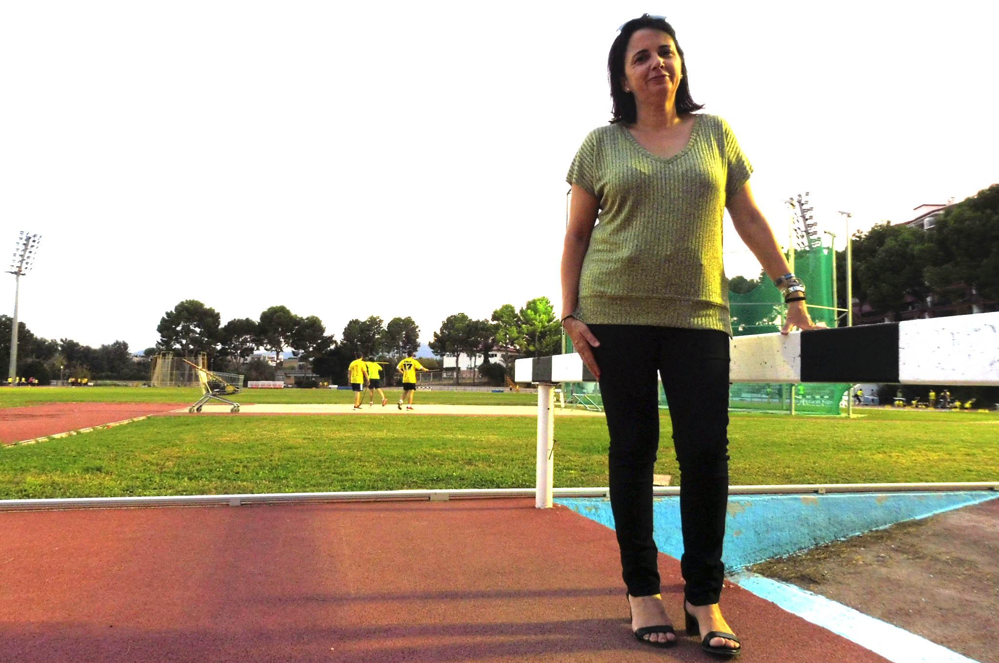 Celia Olcina: 'El projecte d'atletisme està donant els fruits, hem notat l'evolució dels xiquets'