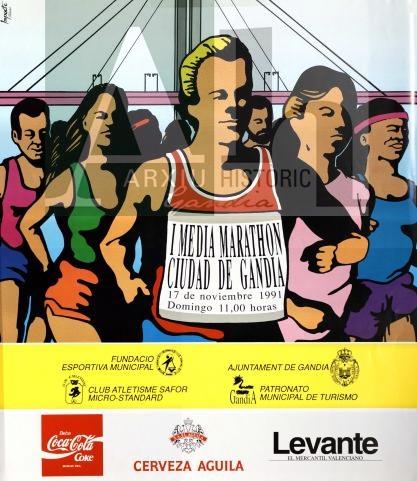 La primera Mitja Marató de Gandia