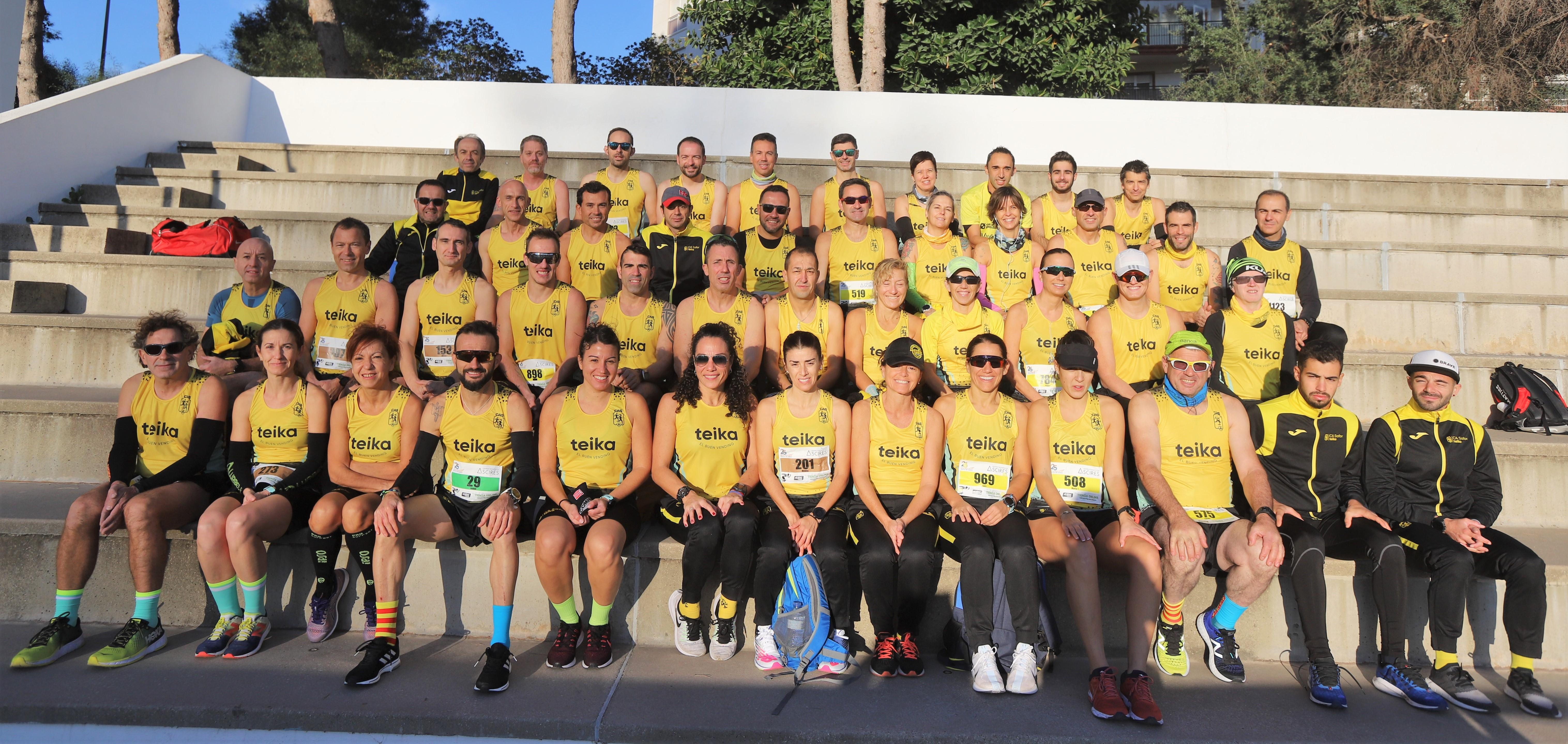 El club guanya la classificació per equips de la Mitja Marató de Gandia
