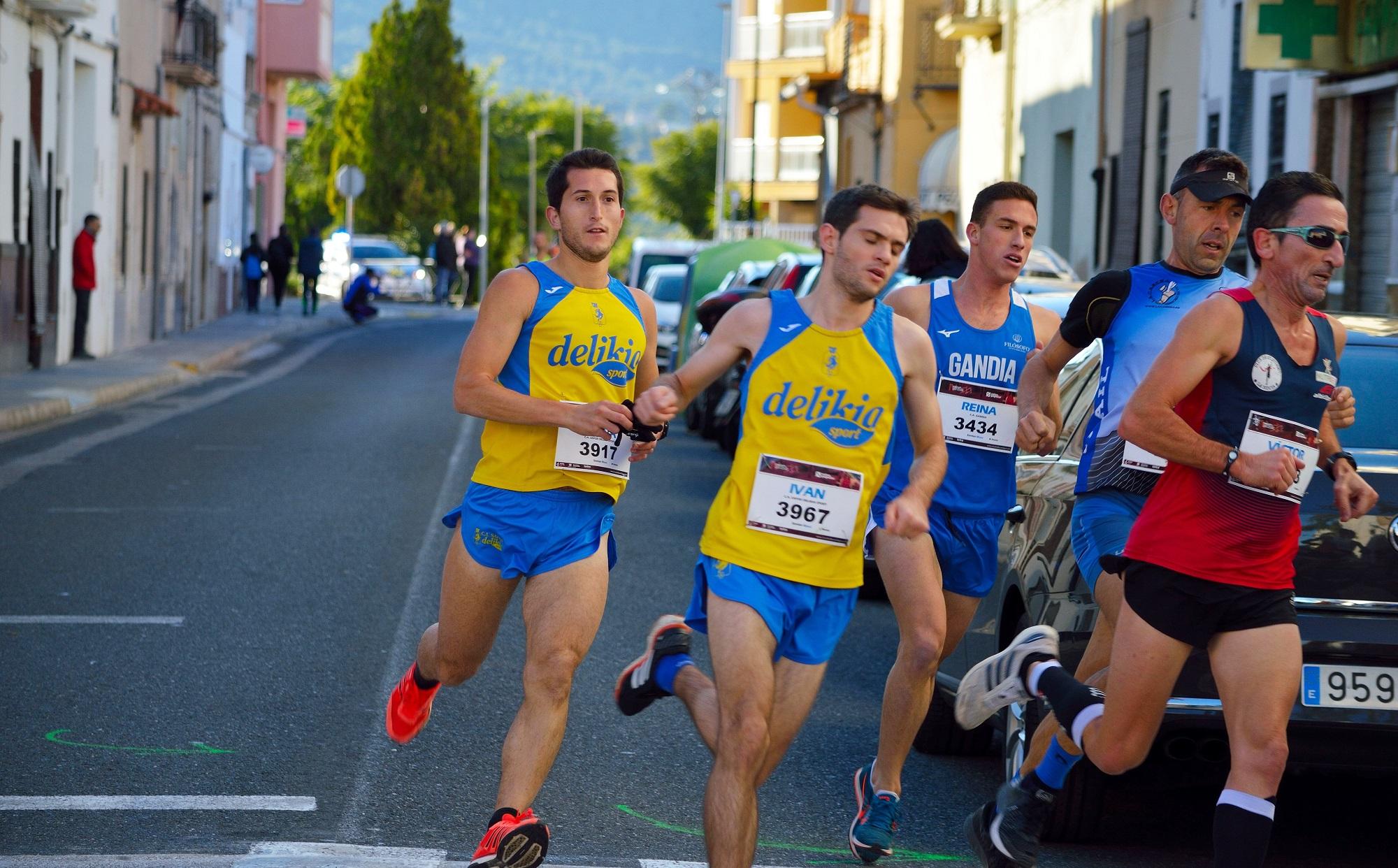Vint-i-cinc corredors participaren en la Cursa Popular Solidària a Beniarjó