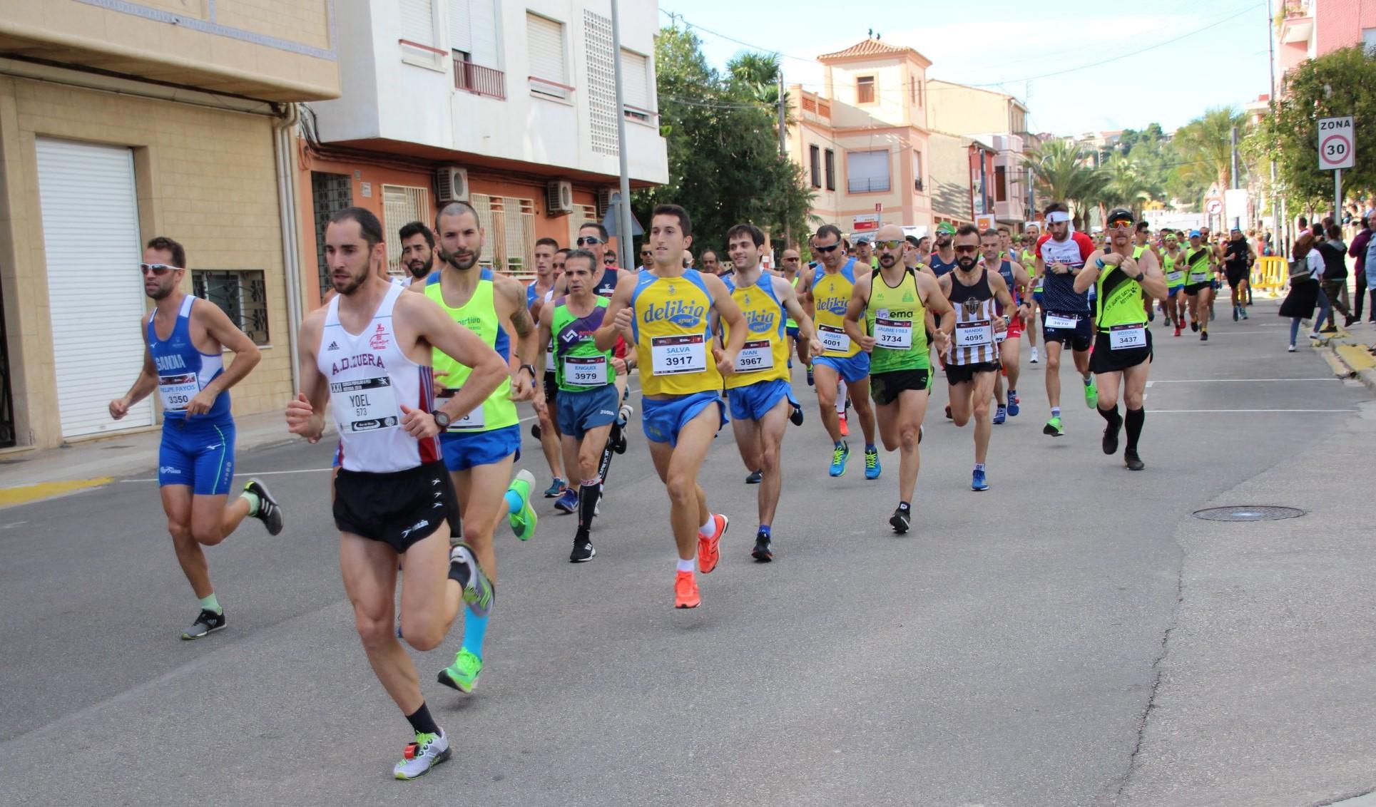 El club va competir en la Cursa a Peu de Ròtova