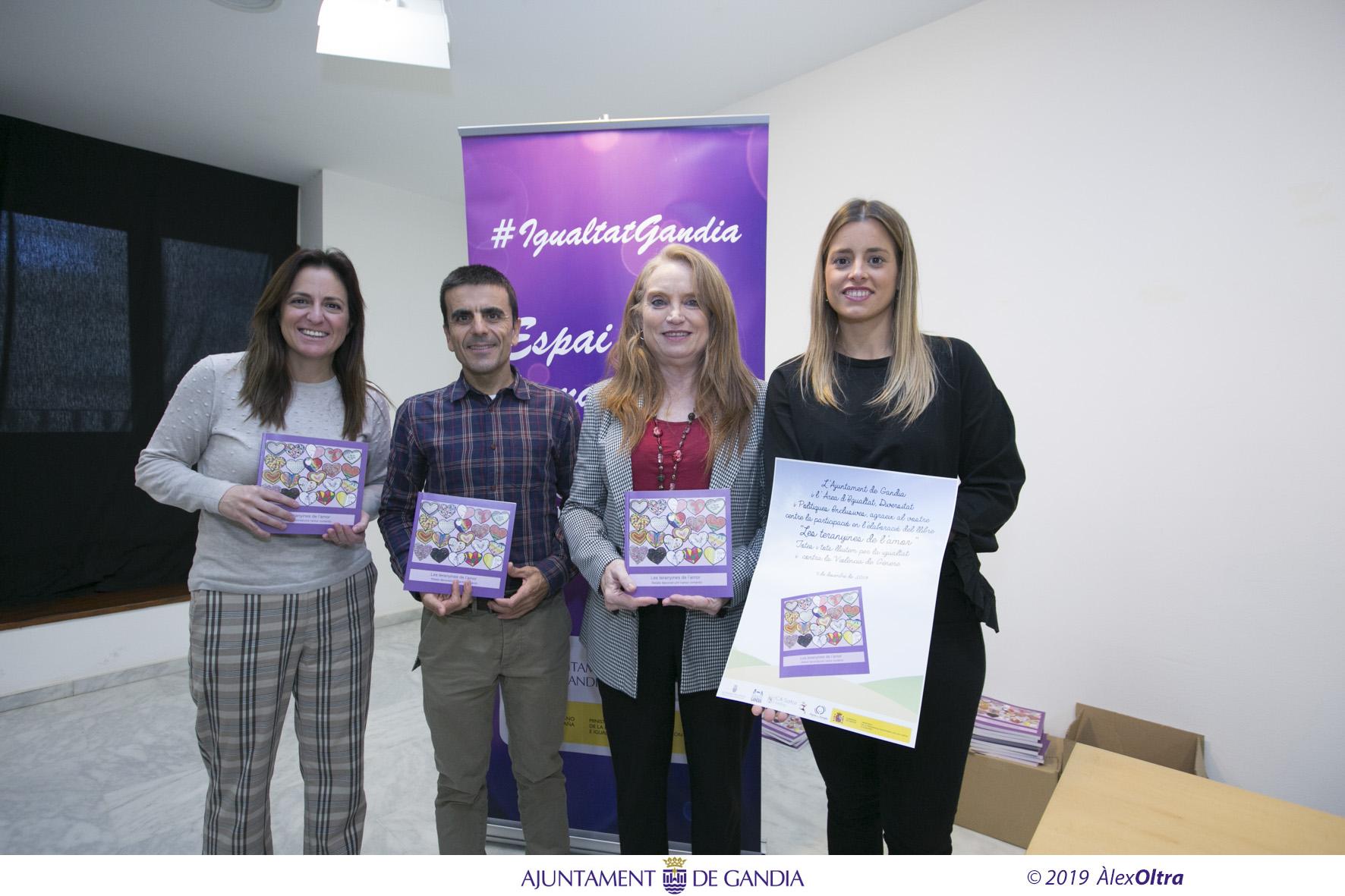 El proyecto de la Cursa de la Dona de Gandia para prevenir la violencia machista se convierte en libro
