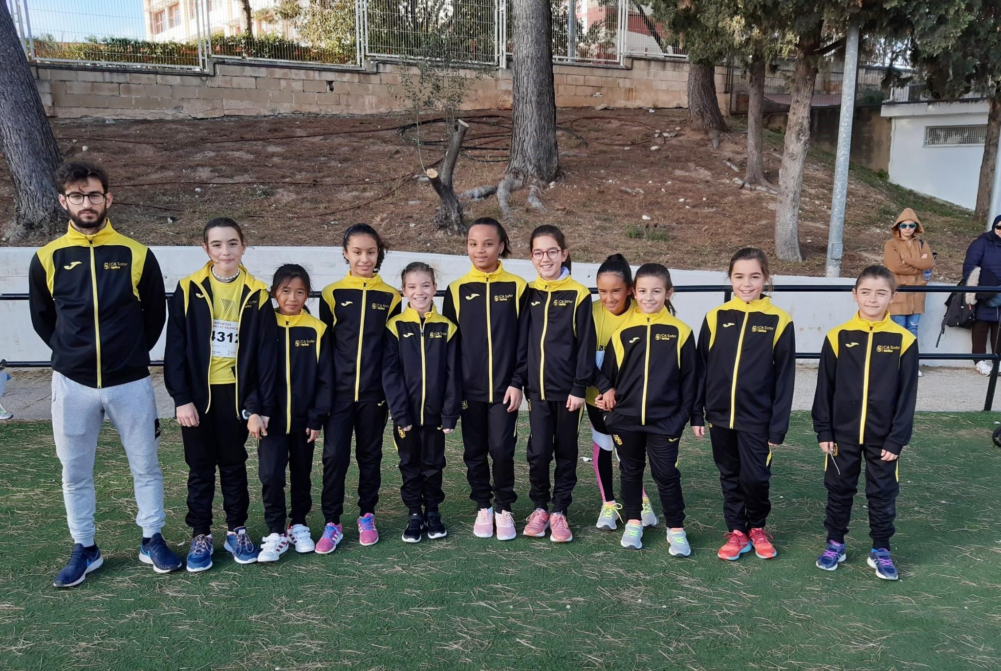 Els alevins participaren en el campionat provincial de proves combinades