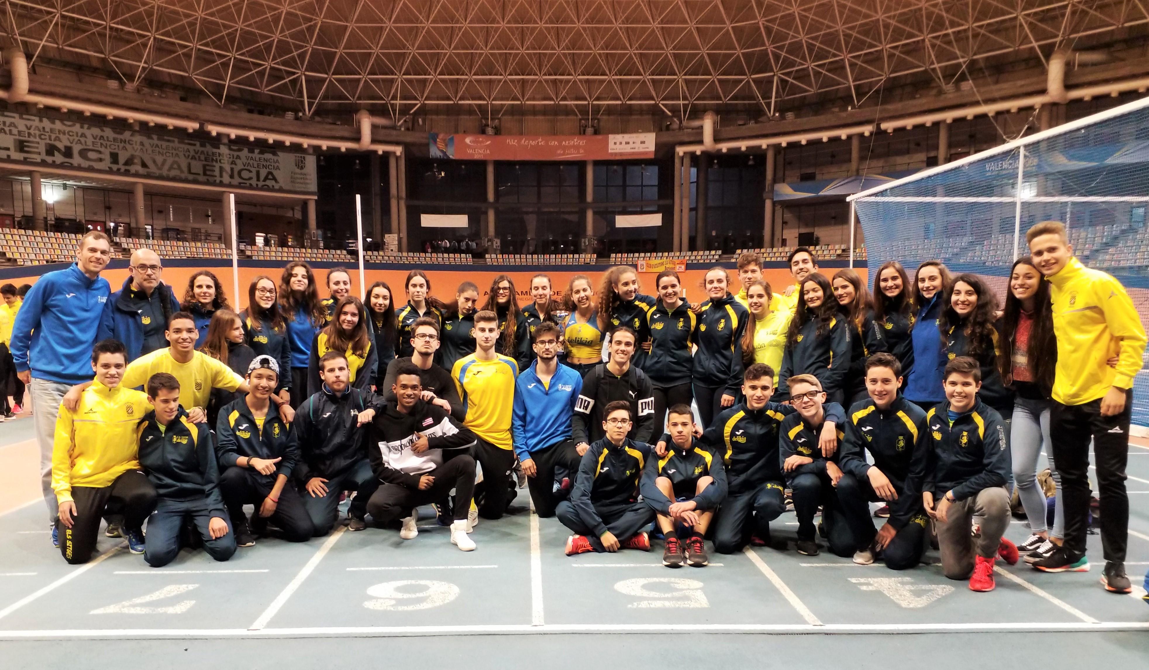 Els xics es classifiquen per al Campionat d'Espanya de Clubs Sub20 en Pista Coberta
