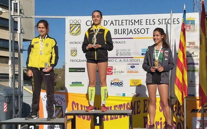 Yaiza Juan es proclama campiona autonòmica cadet en els 5 km marxa