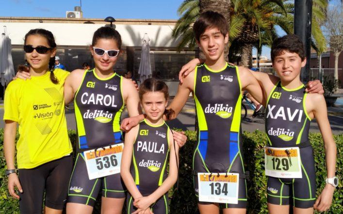 El club va competir en el duatló escolar de Carlet