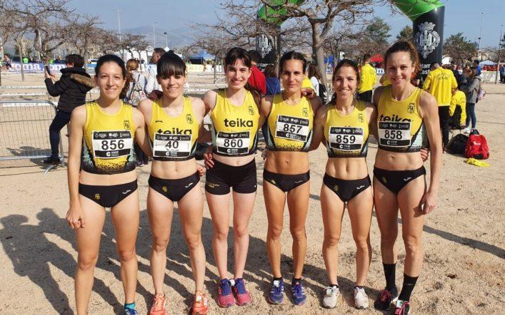 L'equip femení de cross es classifica per al Campionat d'Espanya de Clubs
