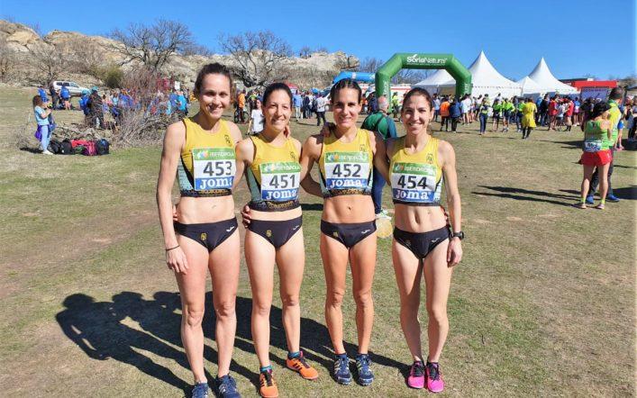 Les xiques del CA Safor Teika queden dotzenes d'Espanya en el Campionat  de Camp a Través per Clubs