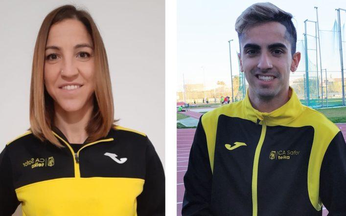 Fran Vilches i Marian Ruiz competeixen este cap de setmana en el Campionat d'Espanya Absolut d'Atletisme