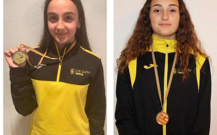Deu medalles en el Campionat Provincial Individual Cadet en Pista Coberta