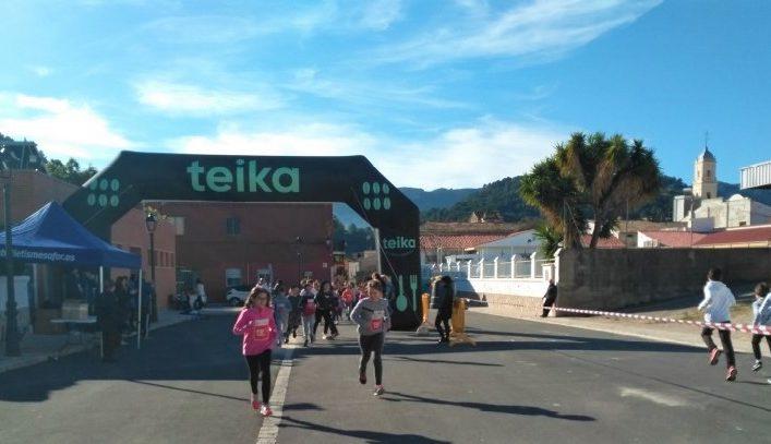 El club va col·laborar en una cursa solidària organitzada pel col·legi d'Alfauir-Ròtova