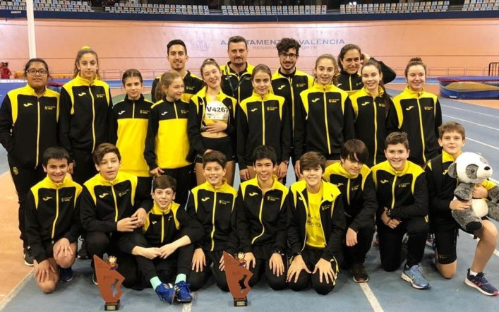 El club va tancar la temporada hivernal amb 41 medalles en campionats autonòmics i d'Espanya