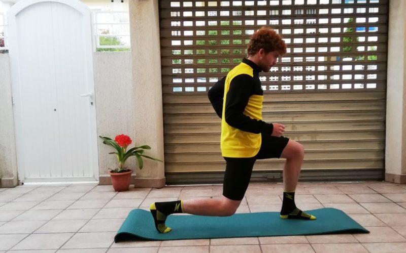 Els atletes del club tiren mà d'enginy i motivació per a mantindre's en forma a casa