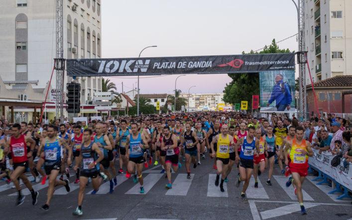 El club cancel·la la novena ediciódel 10K Nocturn de la Platja de Gandia Trasmediterránea-Memorial Toni Herreros