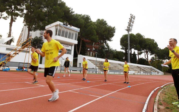 Els atletes del club es retroben amb la pista