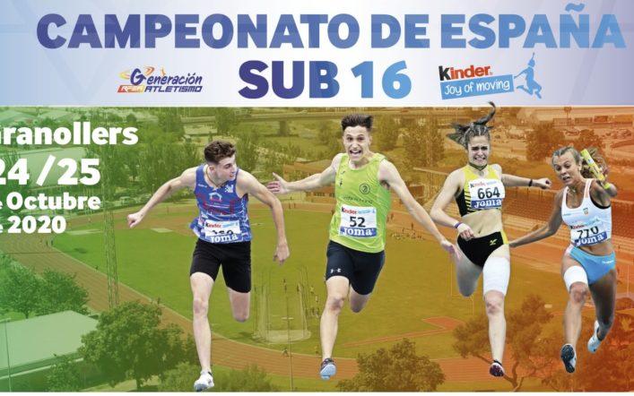 El club presenta a nou atletes al Campionat d'Espanya Cadet este cap de setmana a Granollers