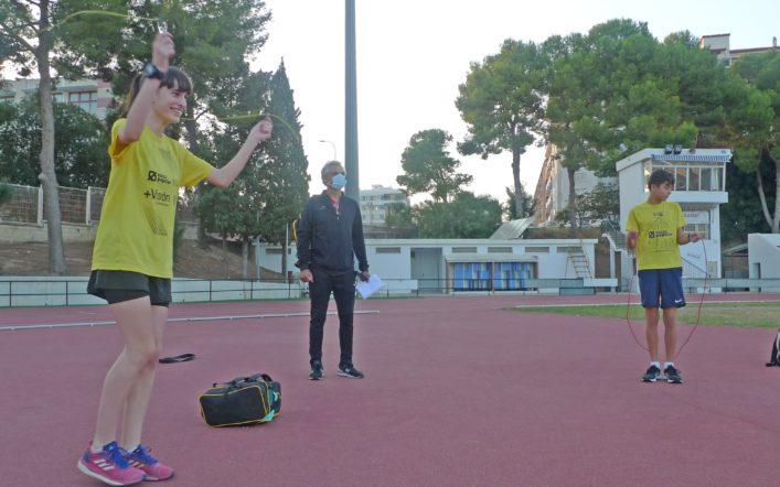 Empar Vizcaíno, un exemple de superació i integració en el Club d'Atletisme Safor Teika