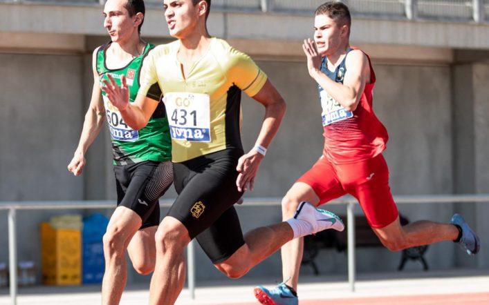 Quatre llocs de finalista en el Campionat d'Espanya Juvenil a l'Aire Lliure