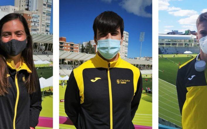 Tres llocs de finalista en el Campionat d'Espanya Júnior a l'Aire Lliure
