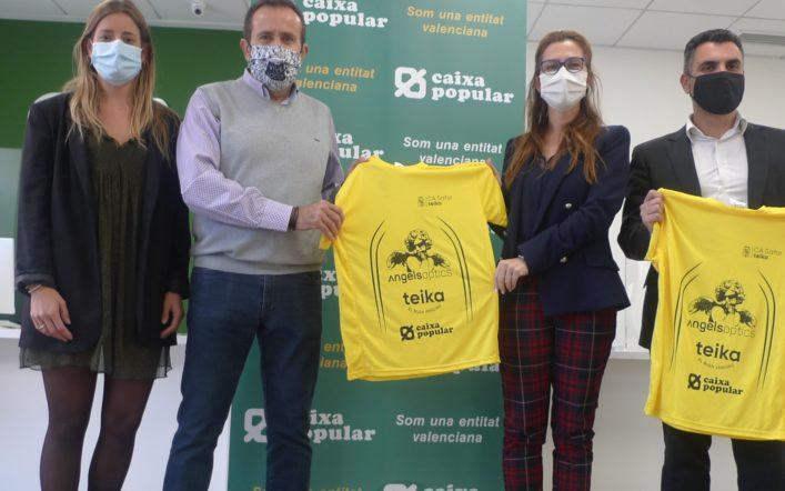 Caixa Popular patrocina per cinquena temporada consecutiva al CA Safor Teika