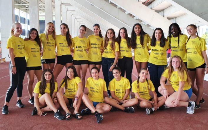 L'equip femení cadet competeix este dissabte en el Campionat d'Espanya per Clubs