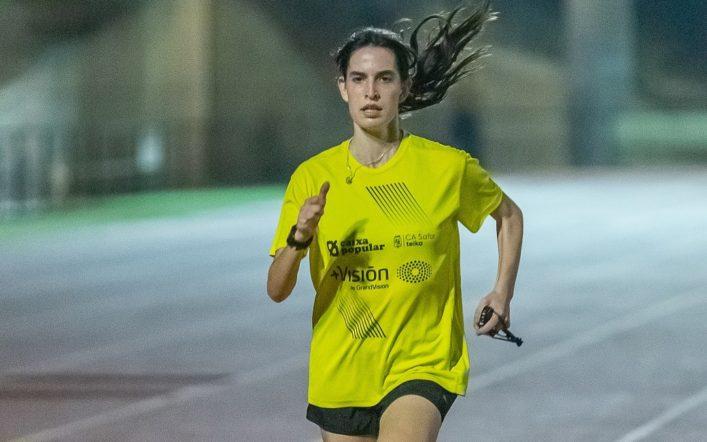 Dues medalles per a Empar Vizcaíno en el Campionat d'Espanya d'Atletisme Adaptat