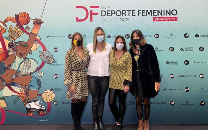 El club apareix en la guia de l'esport femení de Plaza Deportiva