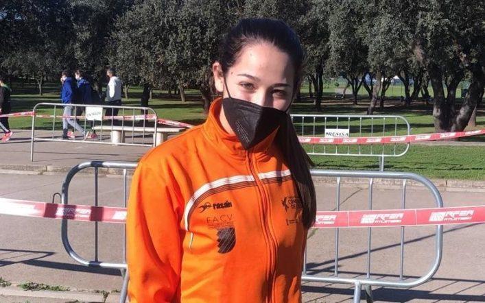 Ángela Casanova queda cinquena amb la selecció valenciana en el Campionat d'Espanya de Marxa