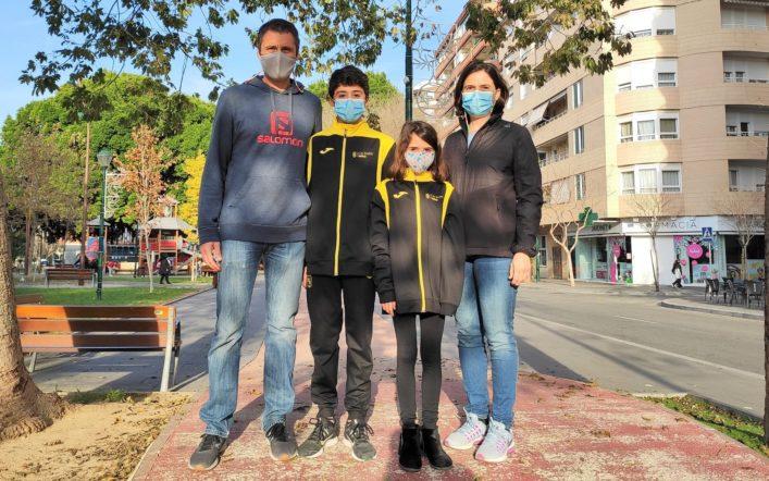Els Cabanilles-Añó, una família esportista en el Club d'Atletisme Safor Teika