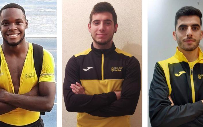Tres atletes participaran en el Campionat d'Espanya Individual Promesa en Pista Coberta