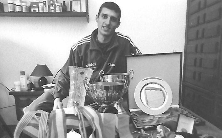 Toni Andrés, un atleta olímpic format en el Safor