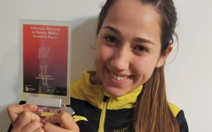 Ángela Casanova queda tercera en categoria Sub18 en els 10 km al Critèrium Nacional de Marxa en Ruta