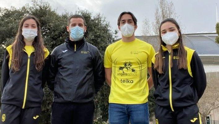 Dues places de finalista en el Campionat d'Espanya Individual Juvenil