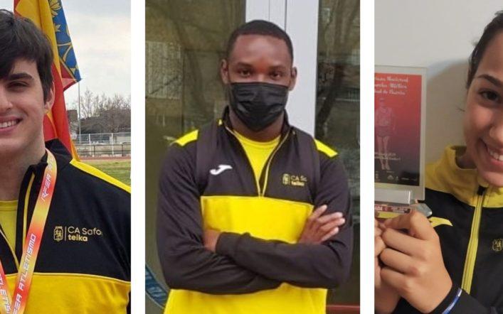 El club tanca la temporada d'hivern amb 10 atletes finalistes en campionats d'Espanya