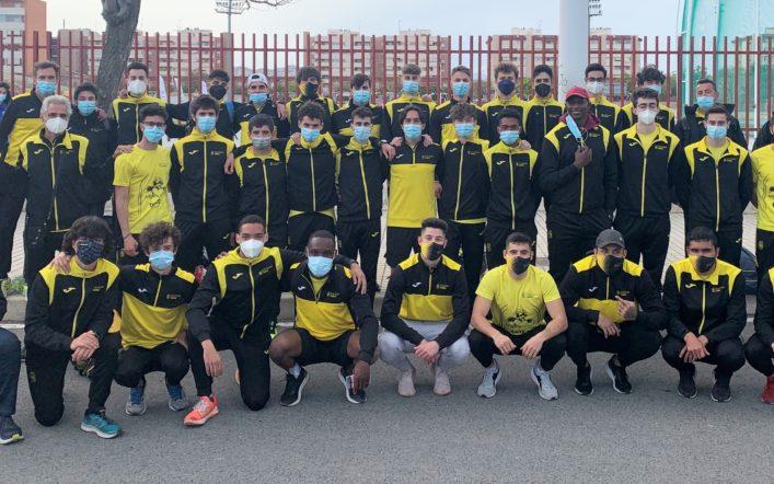 Segon lloc per a l'equip masculí en la primera jornada del Campionat d'Espanya de Clubs