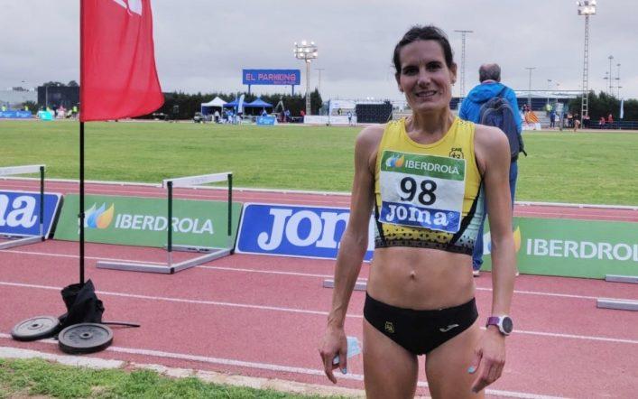 Neus Mas va participar en el Campionat d'Espanya absolut de 10.000 m. a Torrevella