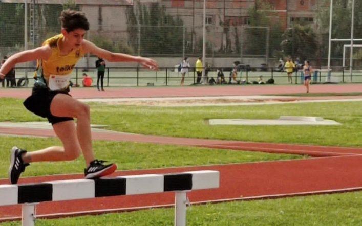Quart lloc per a xics i xiques en el campionat provincial infantil per equips