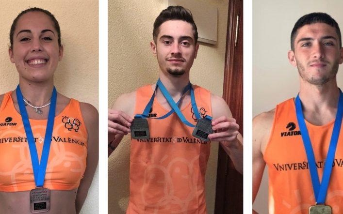 Huit esportistes del club aconsegueixen 13 medalles en el Campionat Autonòmic d'Esport Universitari