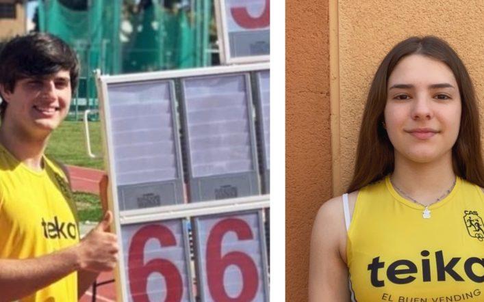 Rècords de club per a Óscar Gimeno i Nerea Almiñana en martell en el provincial de llançaments llargs