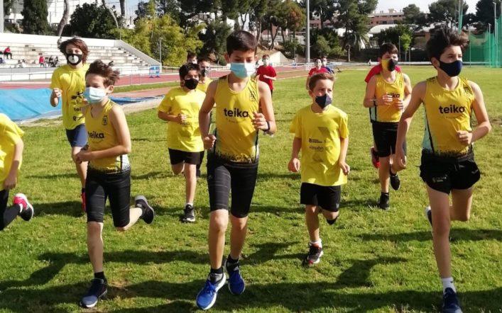 El club va reprendre el cross escolar després d'un any suspés per la pandèmia