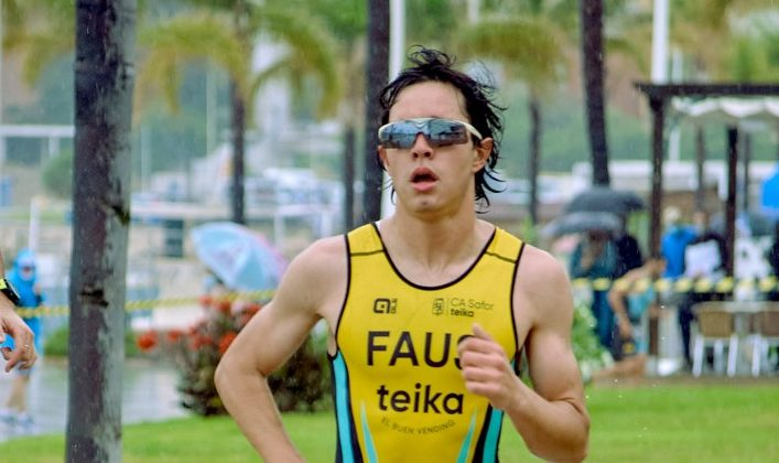 Jhoel Faus guanya en categoria masculina el XII Triatló Ciutat de Gandia
