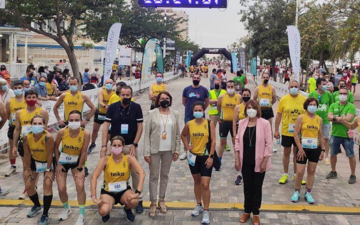 Un total de 32 corredors del CA Safor Teika van competir en el 10K Nocturn