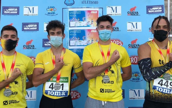 Tres medalles en el Campionat d'Espanya Individual i de Clubs Promesa