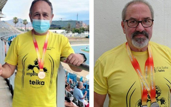 Tres medalles en el Campionat d'Espanya Individual Màster